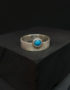 0121 silver ring turquoise