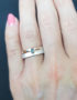 017 silver stacking rings