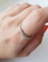 unusual silver ring for woman