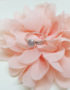 sterling silver ring rose quartz silver jewelry