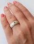 garnet ring moov jewelry