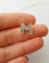M monogram necklace
