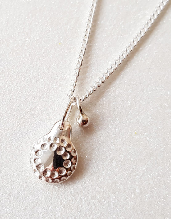handmade silver pendant necklace
