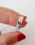 set of 2 silver rings with sapphire3