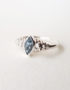 topaz silver ring for woman1