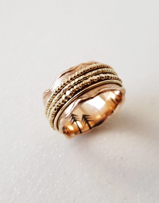 unique spinner ring