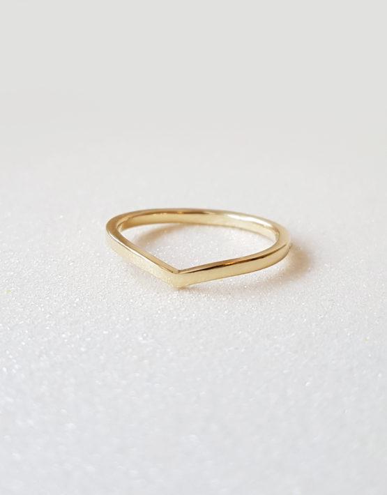 wedding yellow gold ring